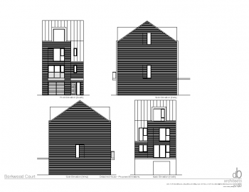 DETACHED HOUSE – PROPOSED ELEVATIONS