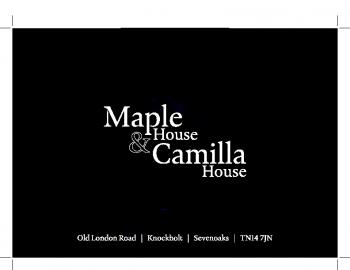 Camilla & Maple House Brochure