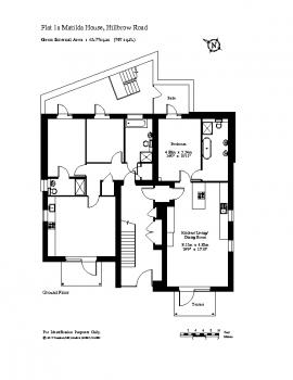 Flat 1a Matilda House
