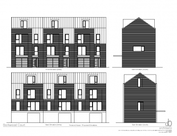 TERRACED HOUSE – PROPOSED ELEVATIONS